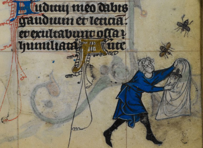 Maastricht Book of Hours, BL Stowe MS17 f148r (detail)